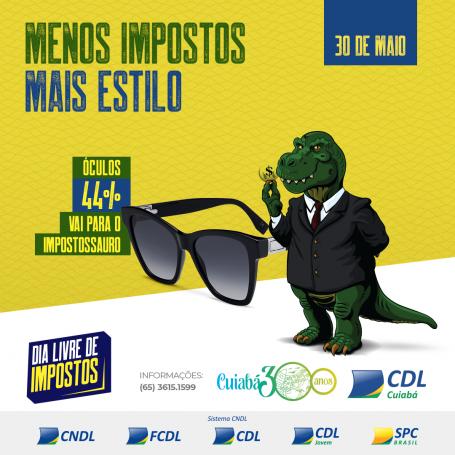 Dia Livre de impostos Post Oculos