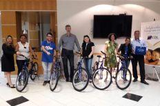 CDL Social e entidades beneficentes sorteiam rifa de bicicletas recebidas por empresa de treinamento