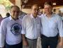 Integrantes do Fórum Pró-Ferrovia participam de reunião com ministro da Infraestrutura; Presidente da CDL Cuiabá marca presença