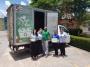 Empresa especializada faz coleta de resíduos na CDL Cuiabá; Produtos são doados pelos colaboradores