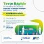Prorrogada até sábado ação de diagnóstico da COVID -19 realizada pela CDL Cuiabá em parceria com Clínica